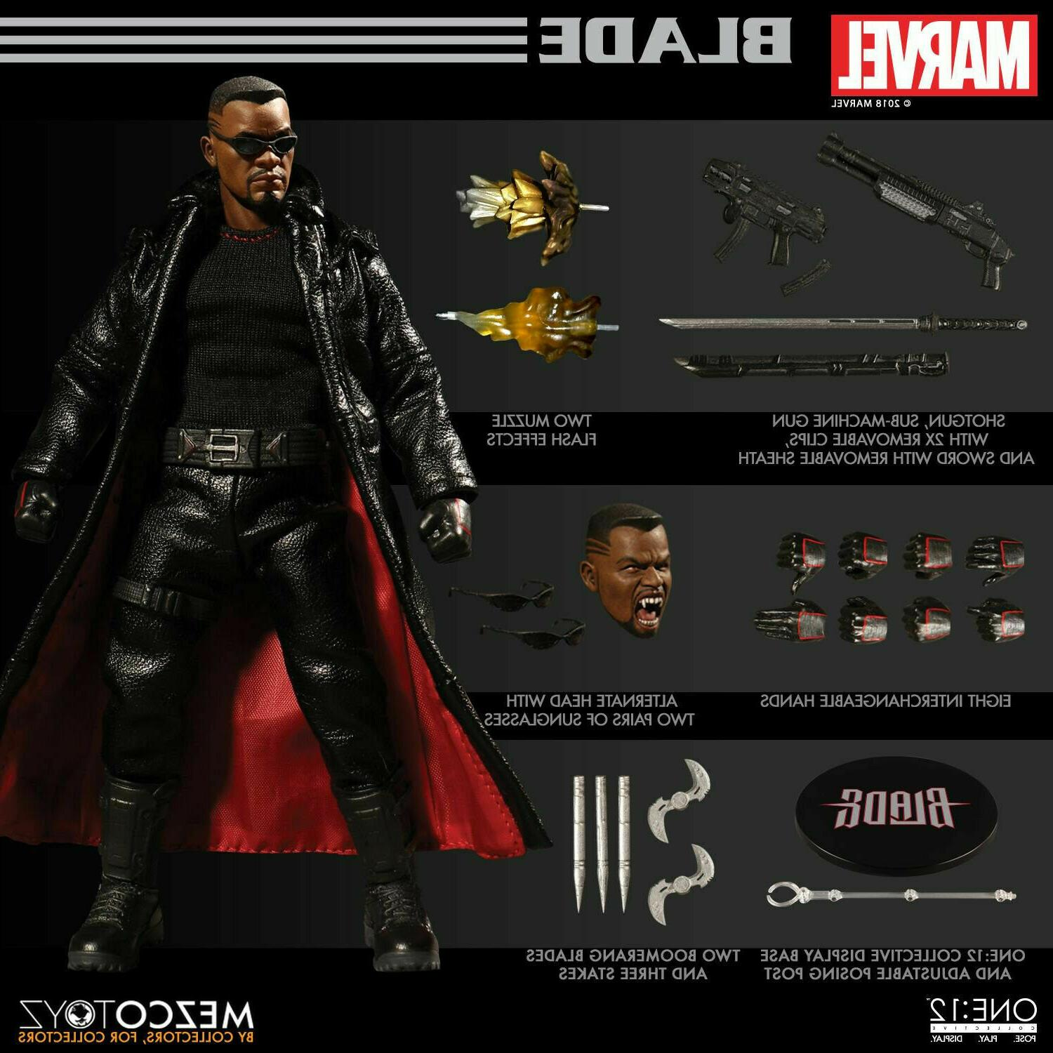 toyz blade wesley snipes one 12 collective
