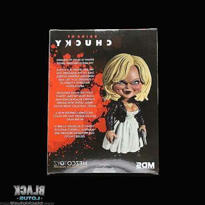 """Mezco Bride Chucky Tiffany Play 6"""" MDS Designer Series"""