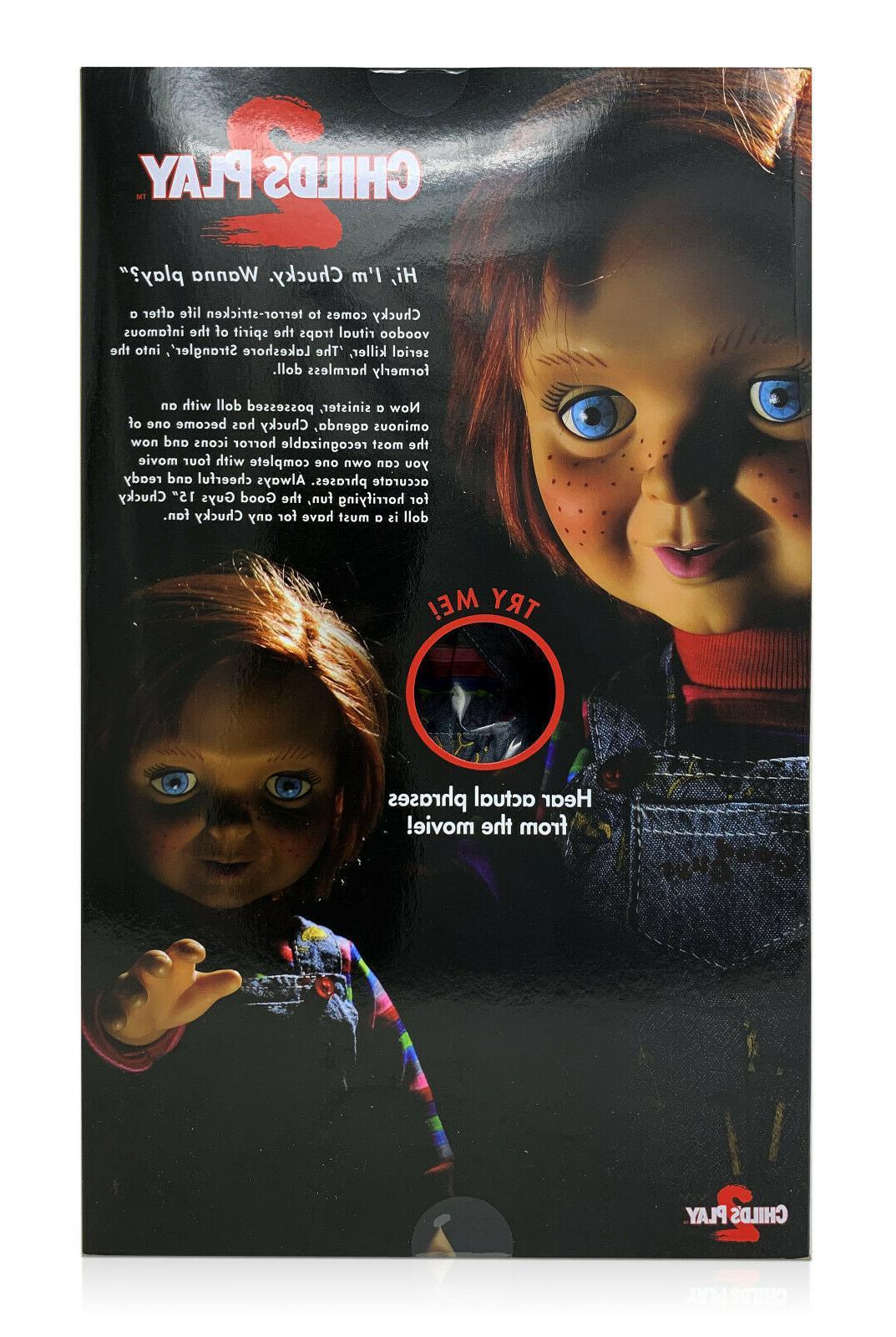 "Mezco Toyz Child's Mega 15"" Talking Good Figure"