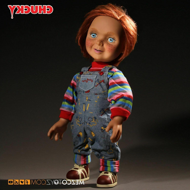"Mezco Toyz Child's Mega 15"" Good Chucky Figure In Stock"