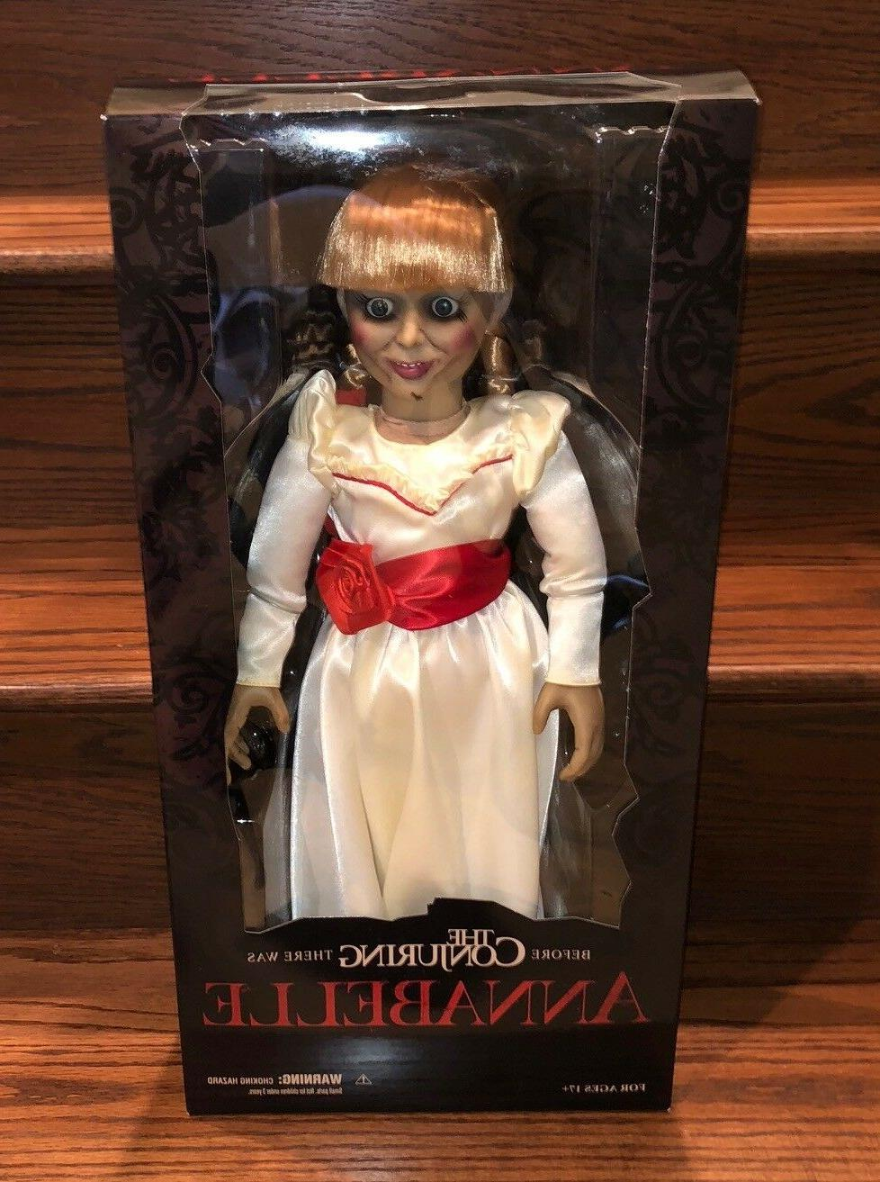 toyz conjuring annabelle creation doll 18 prop