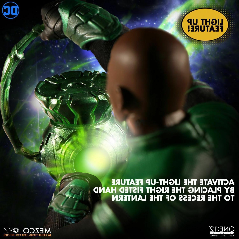 Mezco Green Lantern One:12 Action Figure John Stewart Comics