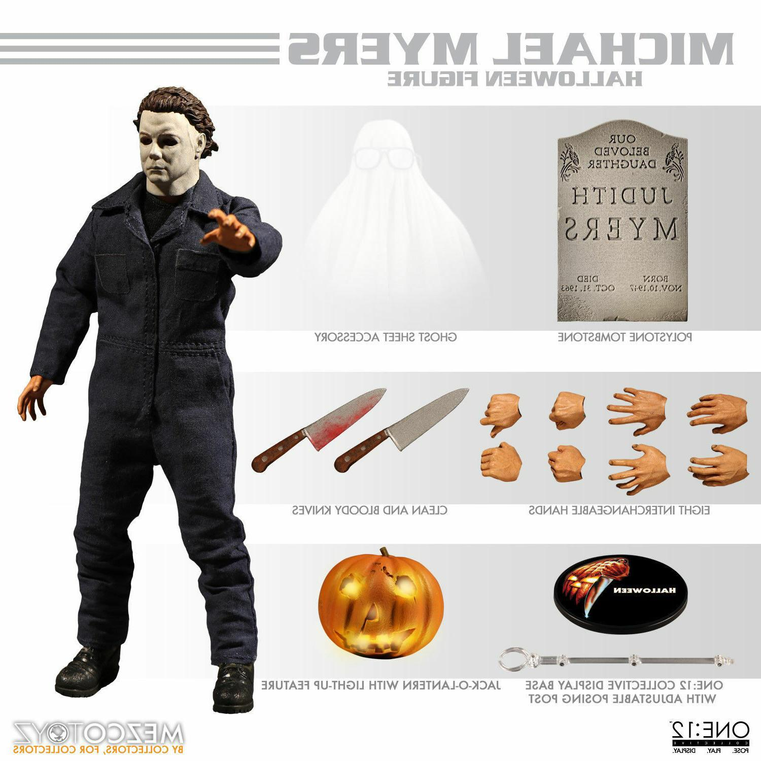 "Mezco Toyz One:12 Collective Michael Myers 6"" Figure Hallowe"