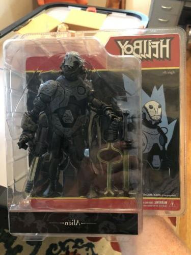 toyz hellboy comic book action figure alien
