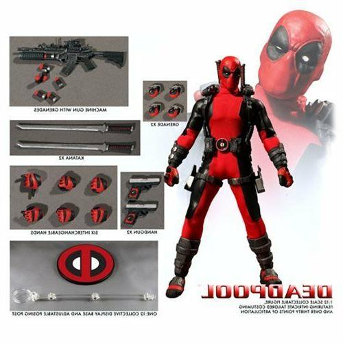 toyz marvel deadpool one 12 collective action