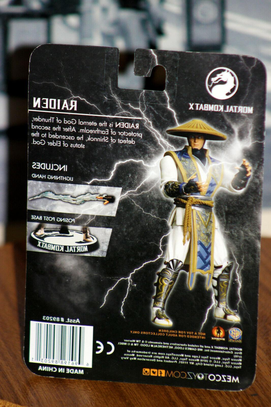 Mezco X, Raiden, Figure, New