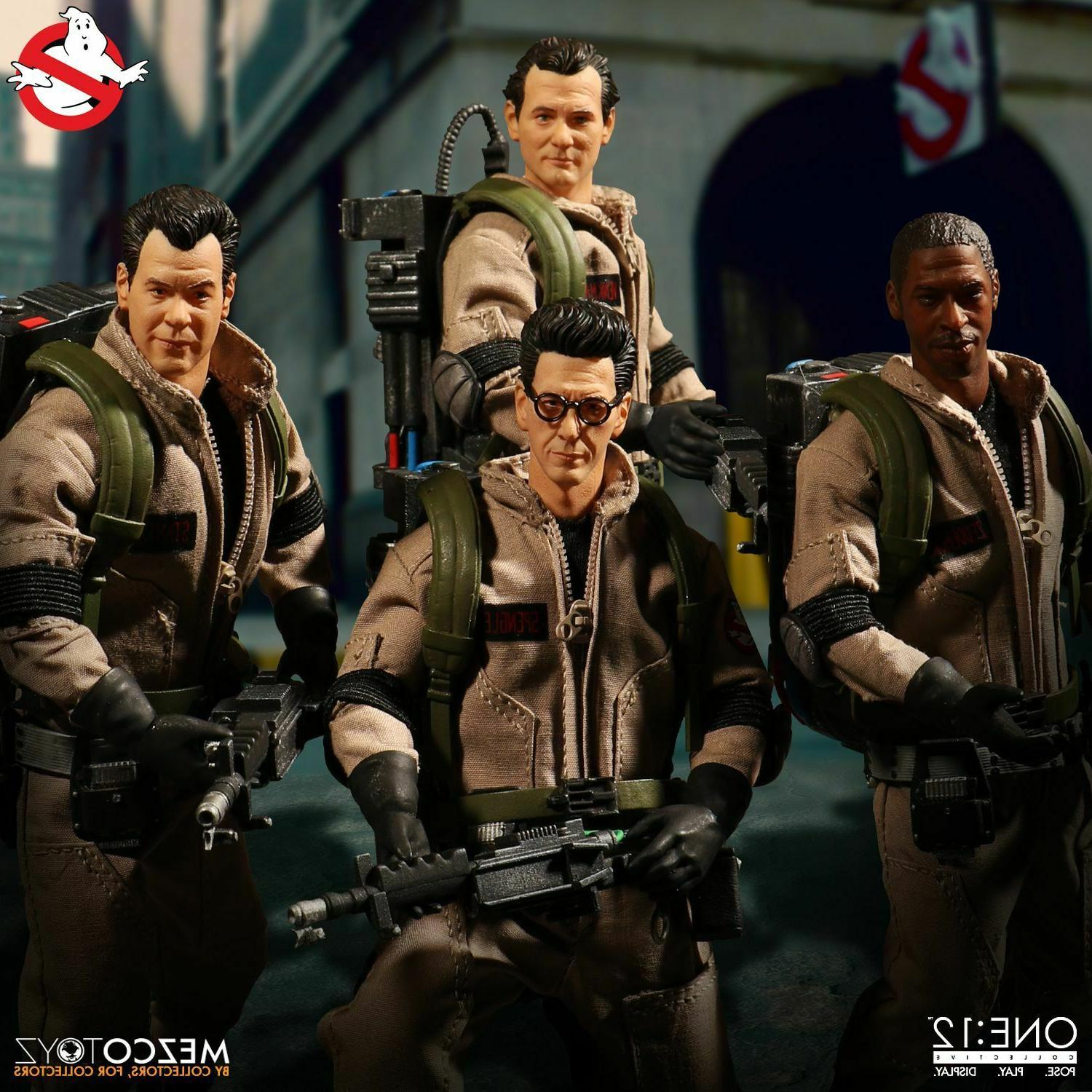 Mezco Toyz Ghostbusters 5 Deluxe Box Set NEW