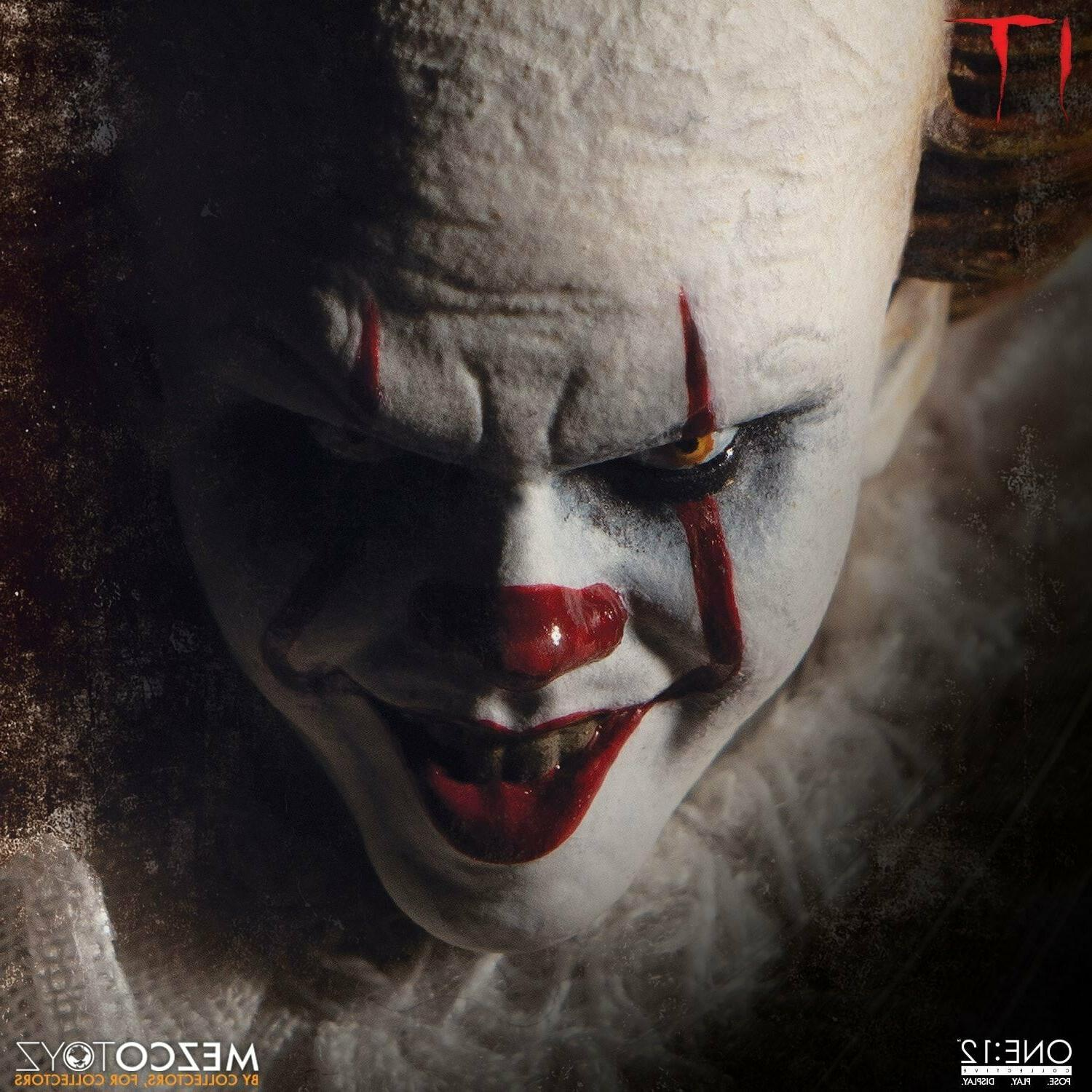 Mezco One Collective Pennywise 1/12 Scale Action In Stock