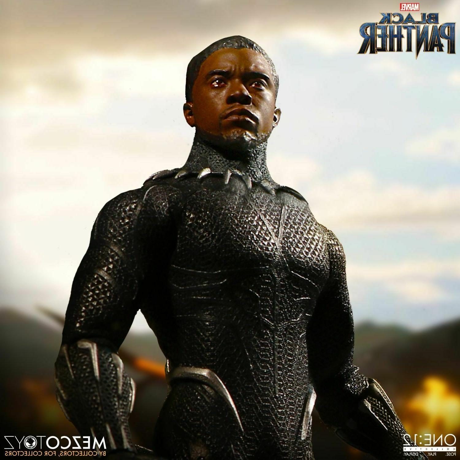 Mezco Toyz One:12 Marvel Panther Collectible Action LIVE