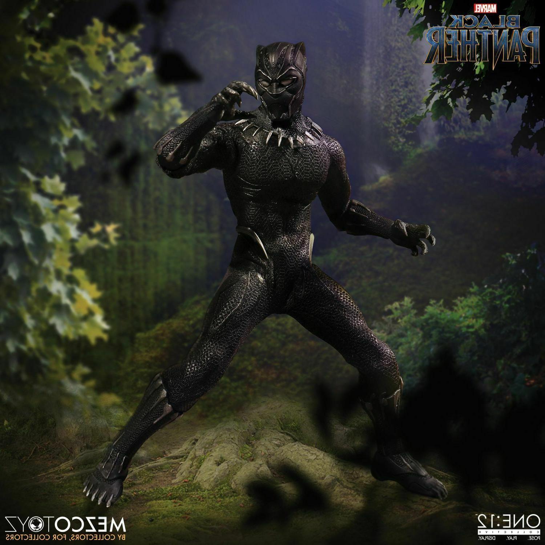 Mezco Marvel Black Panther Action