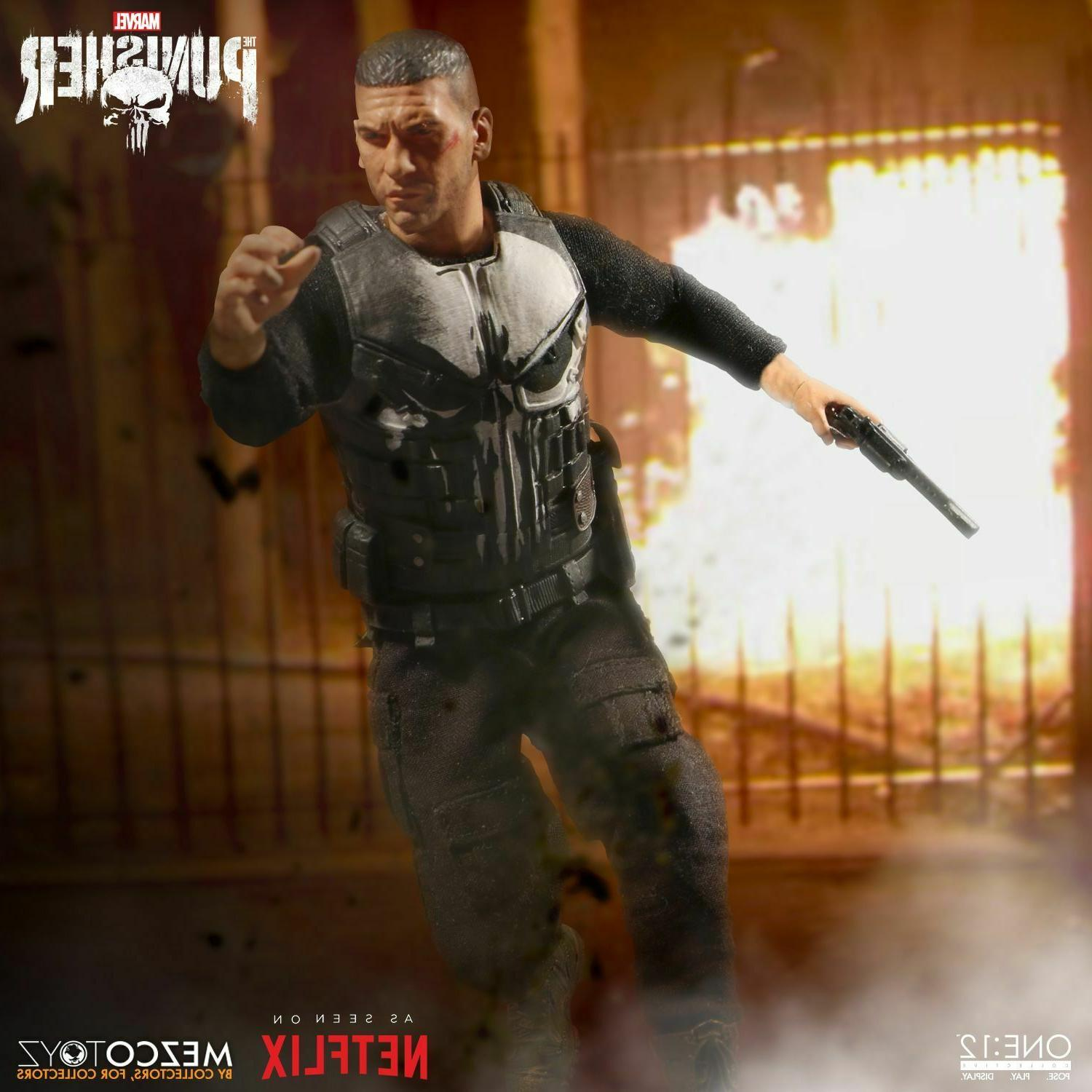 Marvel Mezco Punisher One:12 Figure