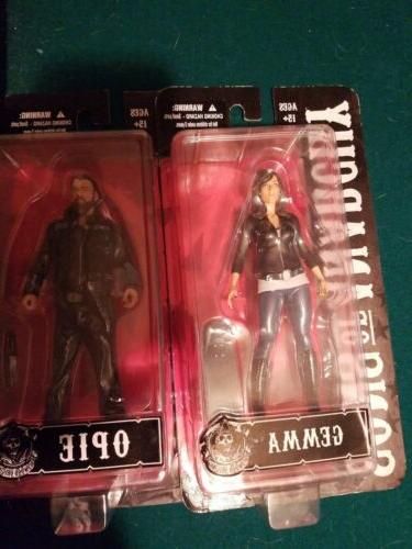 Mezco Anarchy Gemma,and Jax 6-Pack Lot