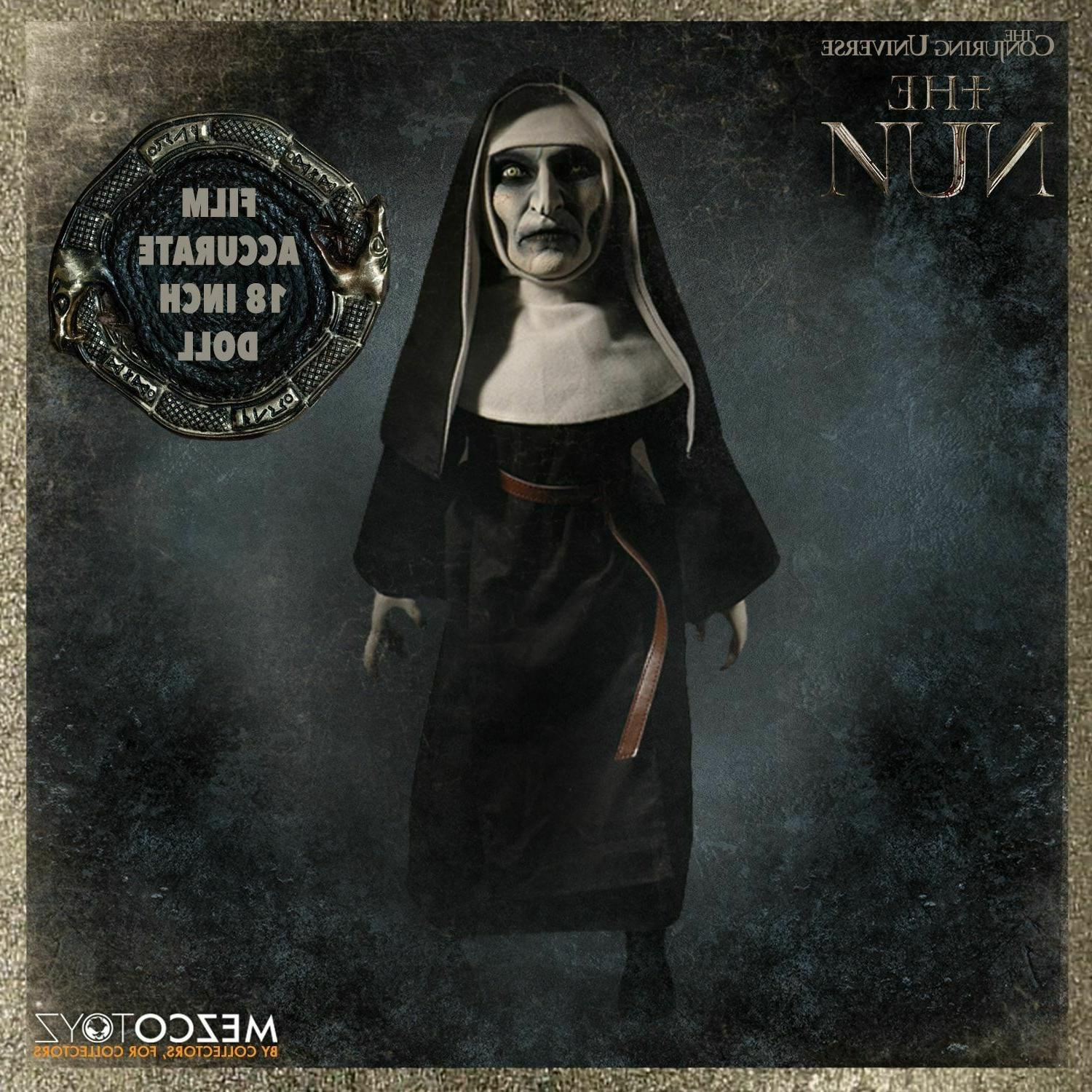 toyz the conjuring universe nun doll 18