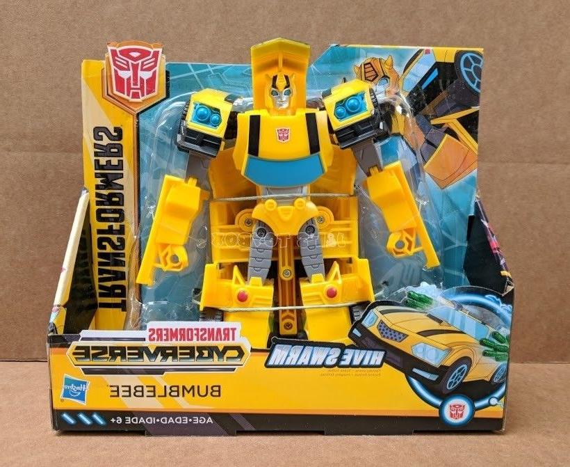 Transformers Cyberverse Bumblebee Ultra Class Wave 1 Action