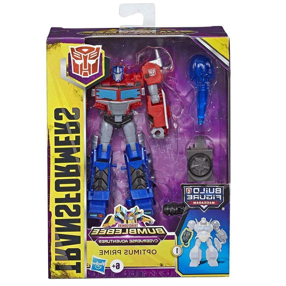 Transformers Cyberverse Matrix Mega Shot DELUXE Optimus Prim