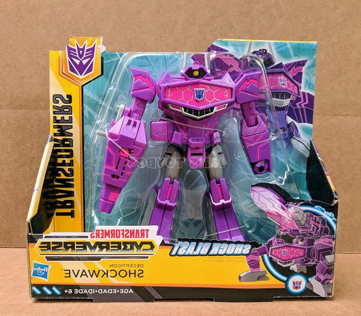 Transformers Cyberverse Shockwave Ultra Series Wave 1 Action