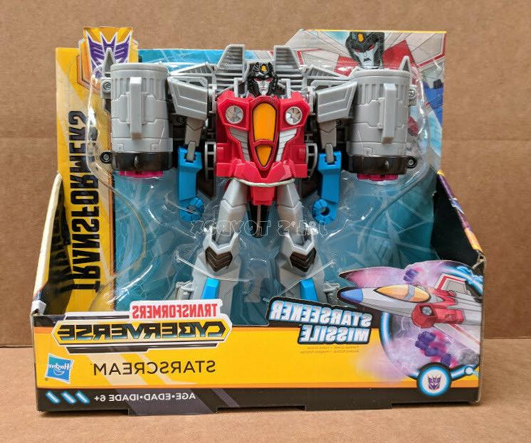 Transformers Cyberverse Starscream Ultra Class Wave 1 Action