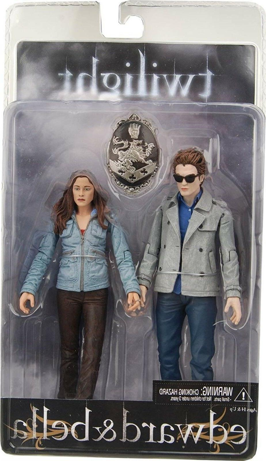 twilight 7 edward and bella action figure