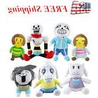Undertale Sans Plush Dolls Figure Papyrus Toriel Stuffed Plu