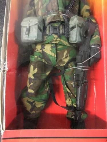 "Elite US Army 1st Division 12"" Action Figure AA 1/6"