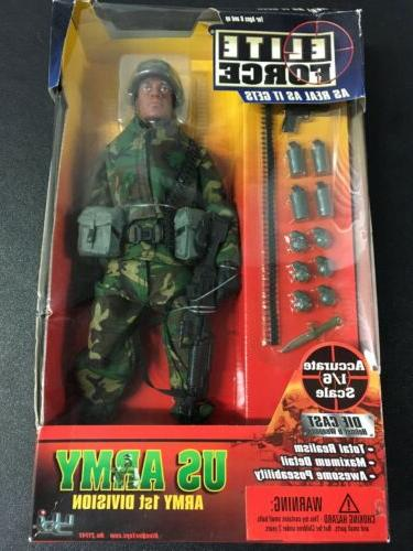 us army 1st division 12 action figure