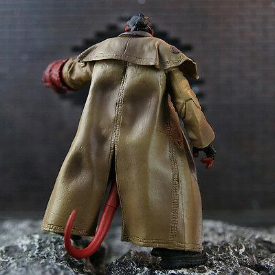 US! Hellboy Action Figure Model Smoking Ver. 1:12 Collection
