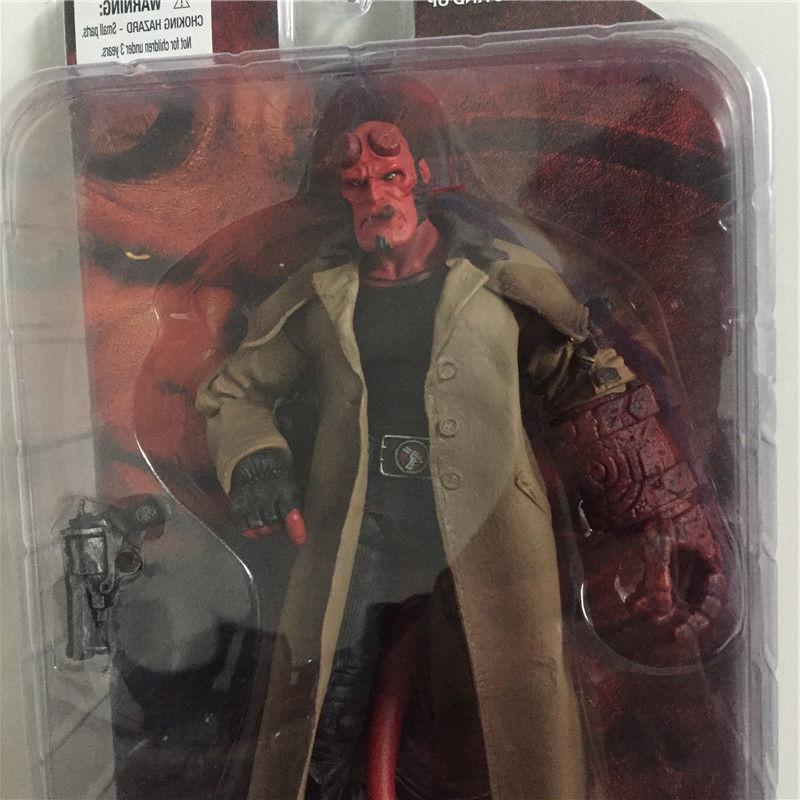US! Hellboy Action Figure Toy Smoking Ver. Series 2 1:12