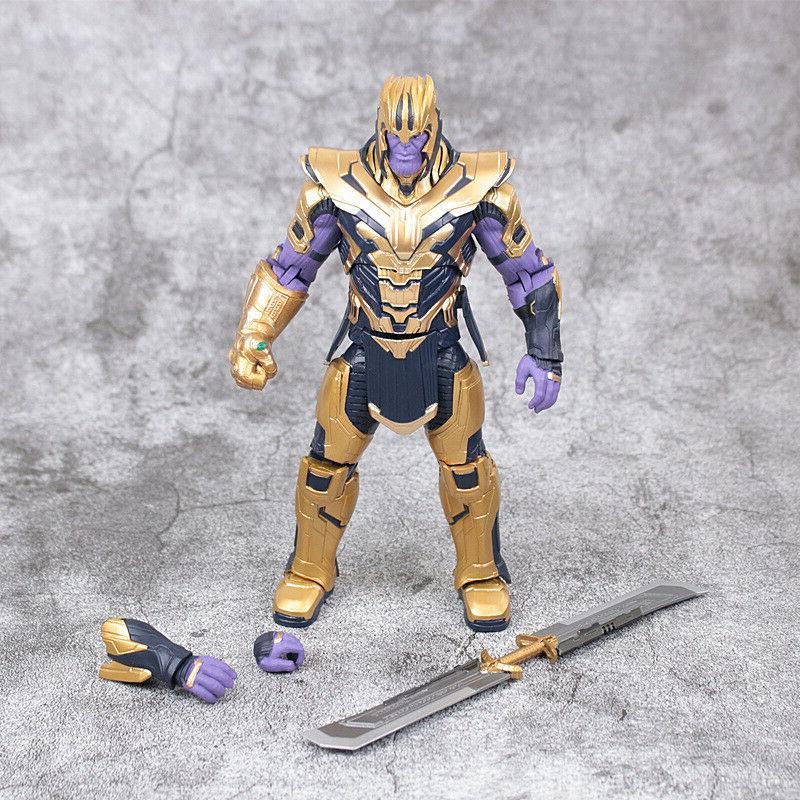 "US! Marvel Legends Thanos 8"" Action Endgame Armored"