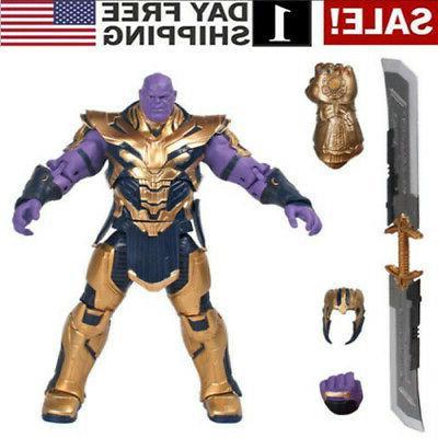 us marvel legends thanos 8 action figure