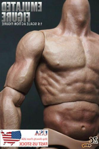 """USA 12"""" Male Action Body For 1/6 HT"""