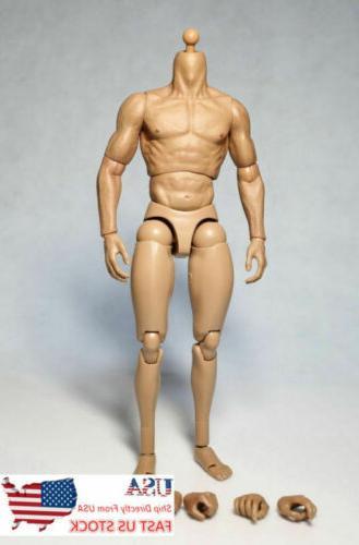 "USA 12"" Male Body 1/6 HT"