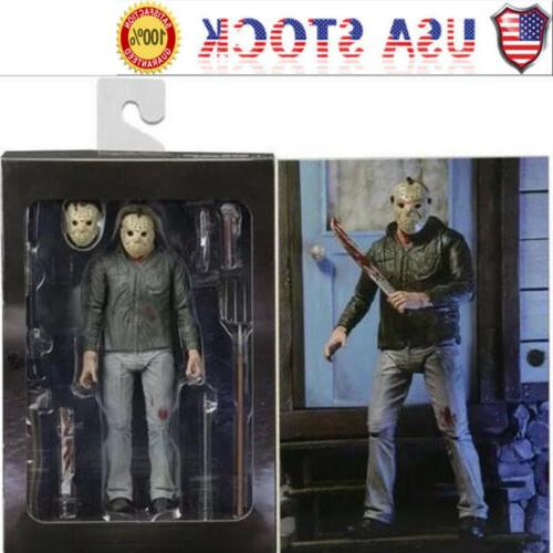 "USA 7"" NECA JASON VOORHEES Model Friday The 13th Part III 3D"