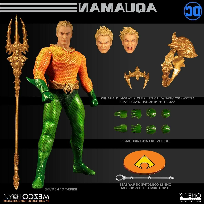 WC77440: MEZCO ONE:12 DC Aquaman action