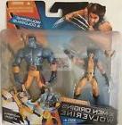 """WOLVERINE & COLOSSUS  X-Men ORIGINS Marvel 2009 3.75"""" INCH A"""