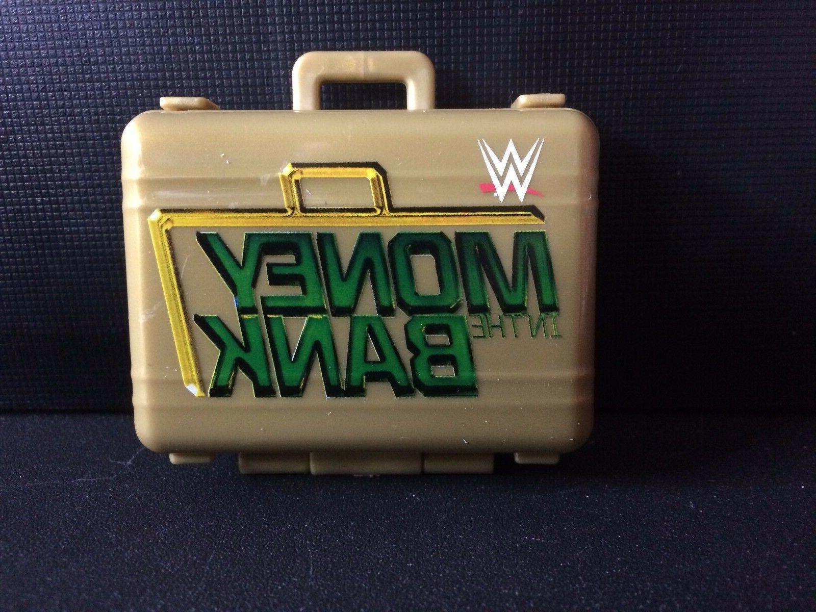 wwe action figure accessory money in