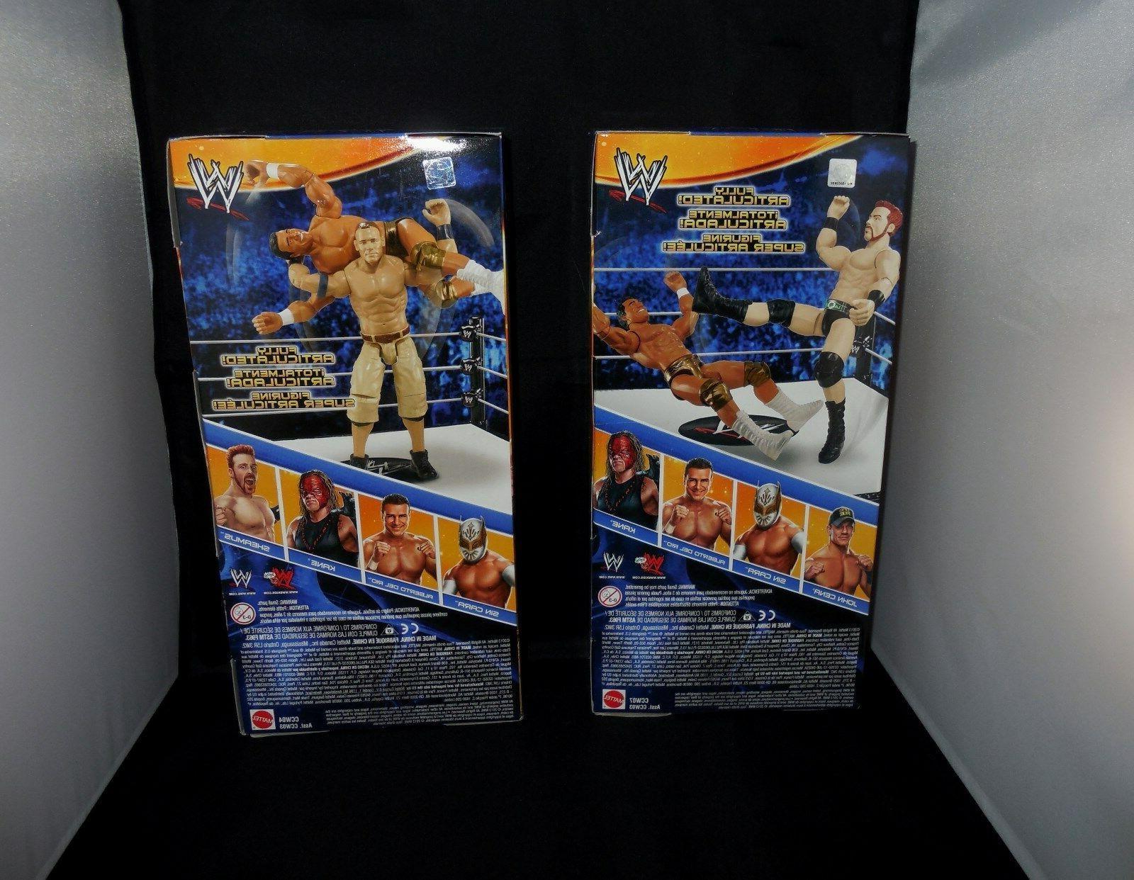 WWE Kane, John Sin Cara, Alberto & Sheamus