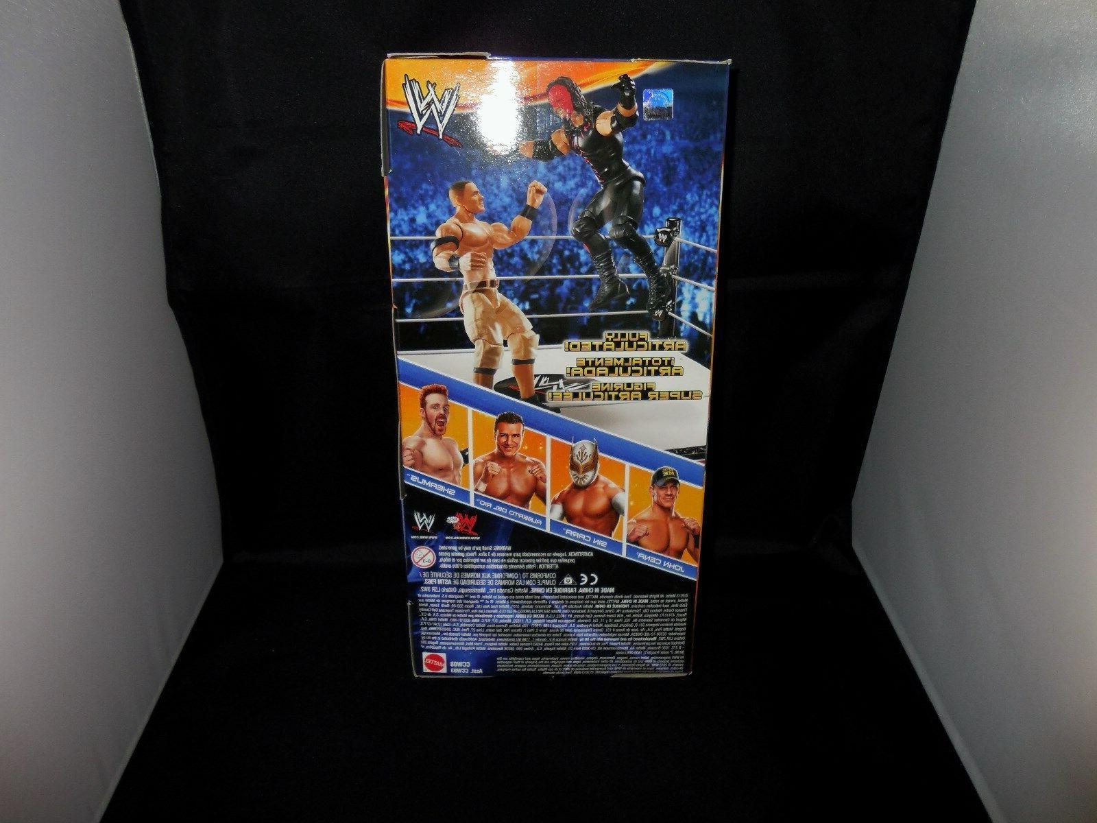 WWE Action John Cena, Alberto Del Rio & Sheamus
