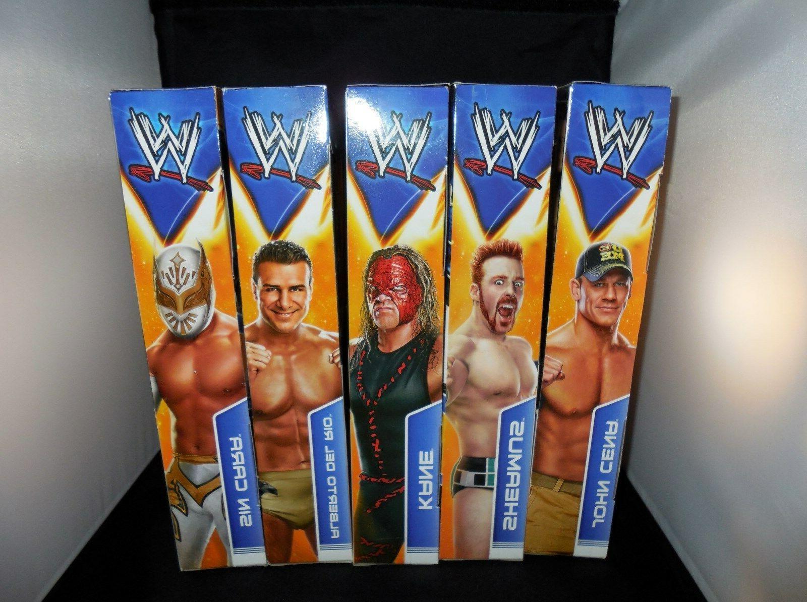 WWE John Cena, Cara, Alberto Sheamus NIP