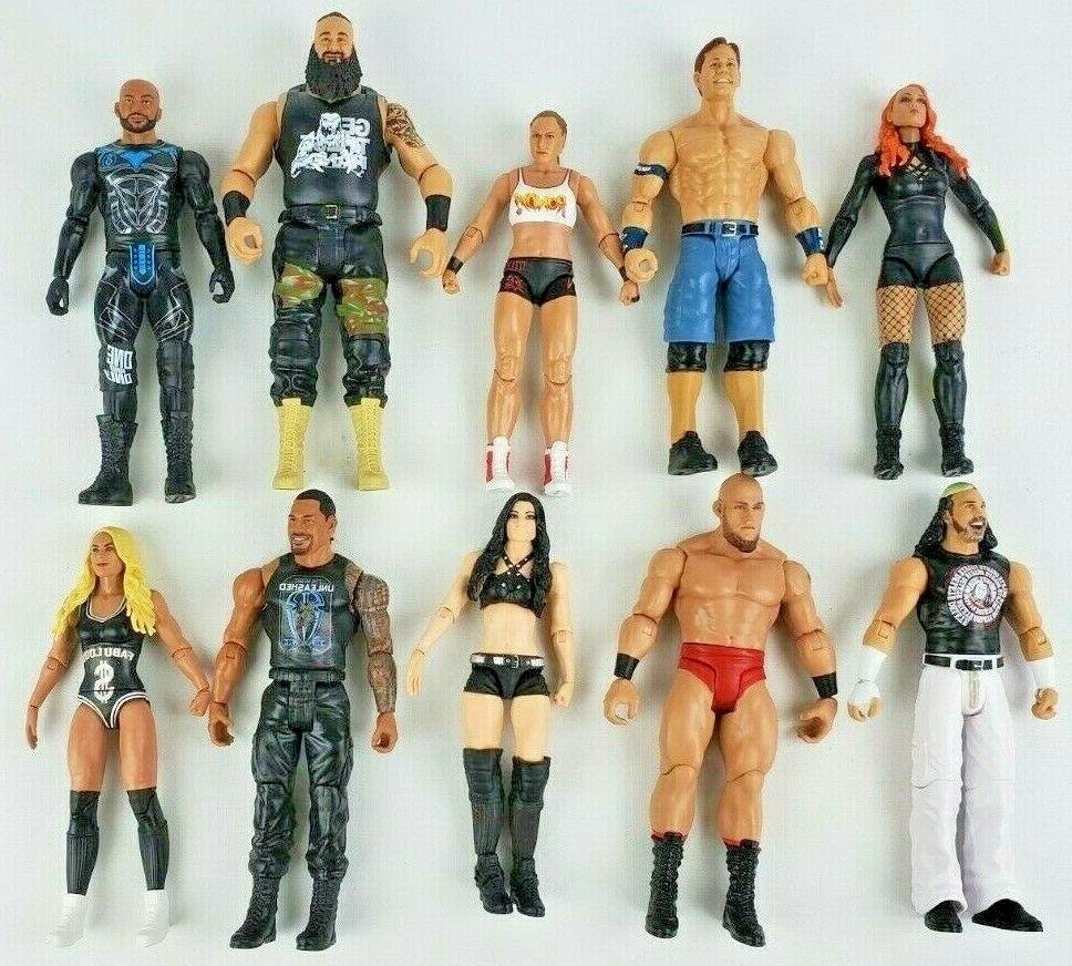 wwe basic series wrestling action figure you