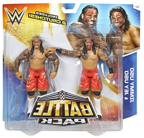 WWE Pack Series #32 vs. Jey Uso Action Figure