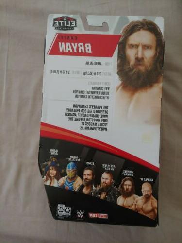 WWE Bryan Elite Collection 73 Mattel Wrestling Action