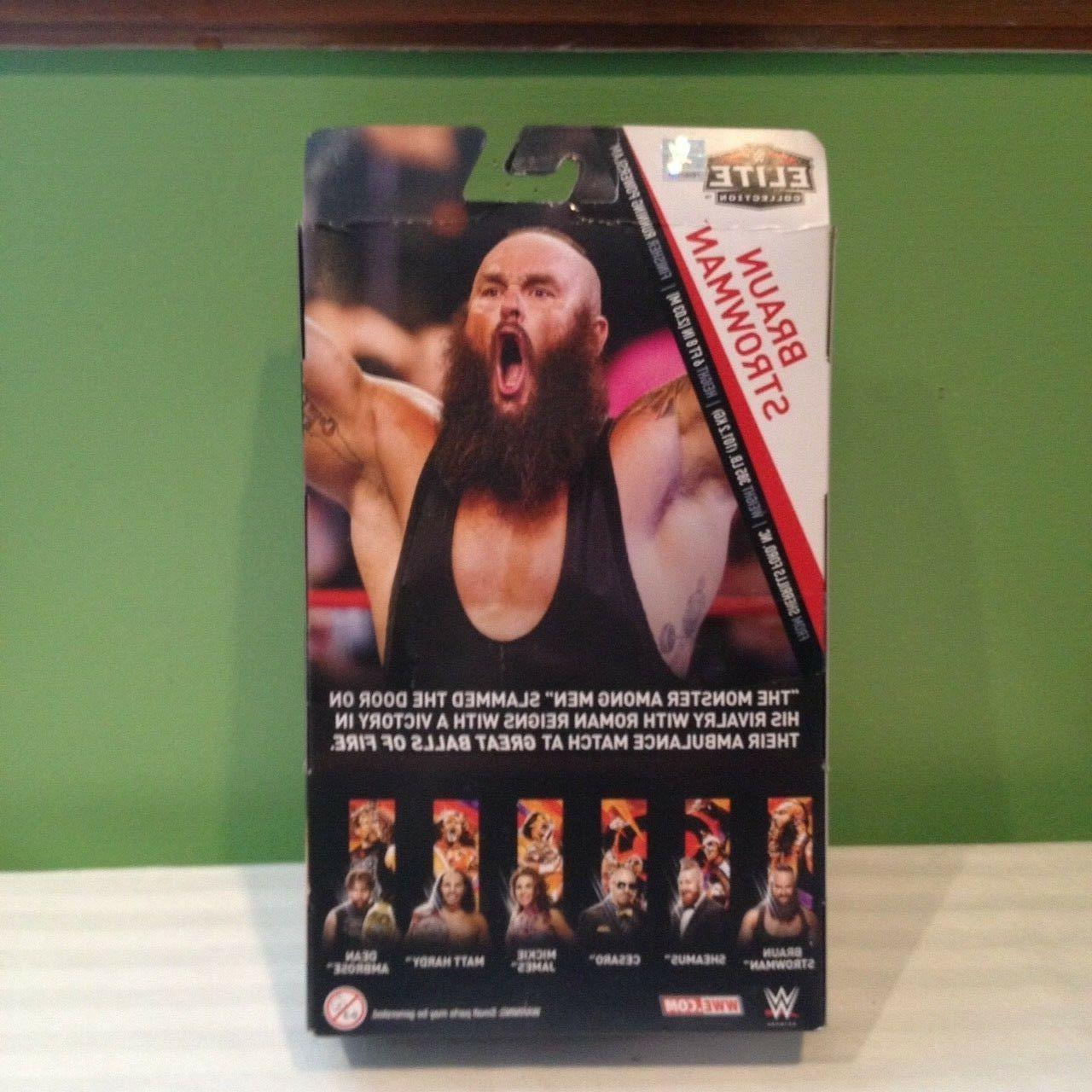 WWE COLLECTION STROWMAN #58 SHIPPING