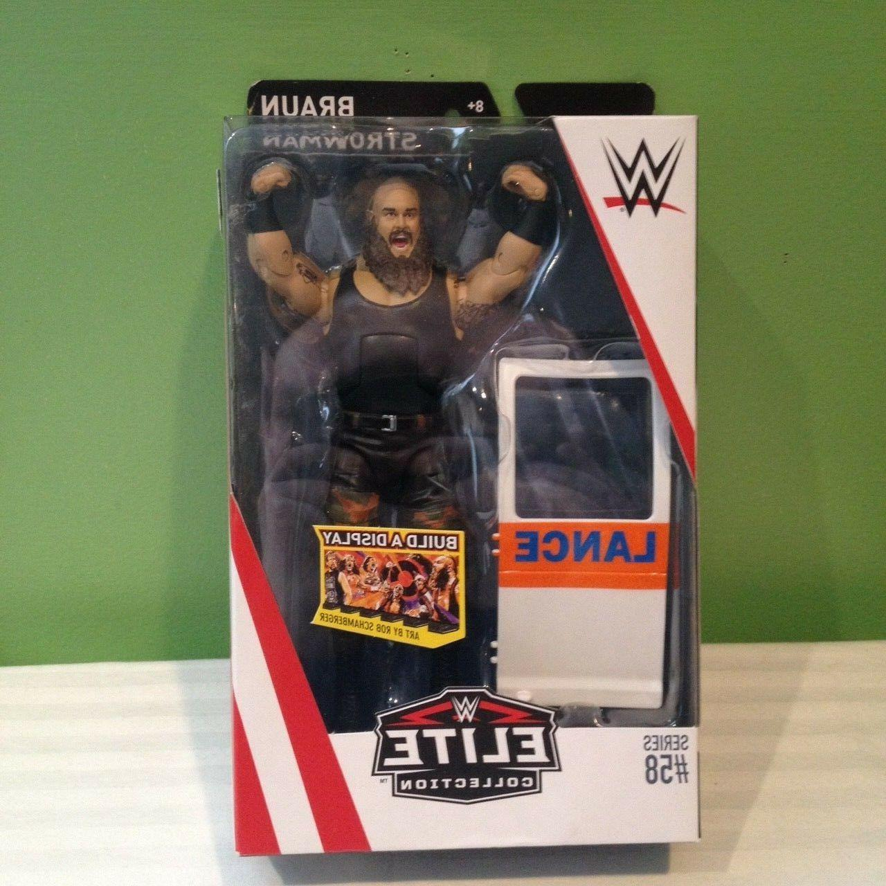 wwe elite collection braun strowman action figure