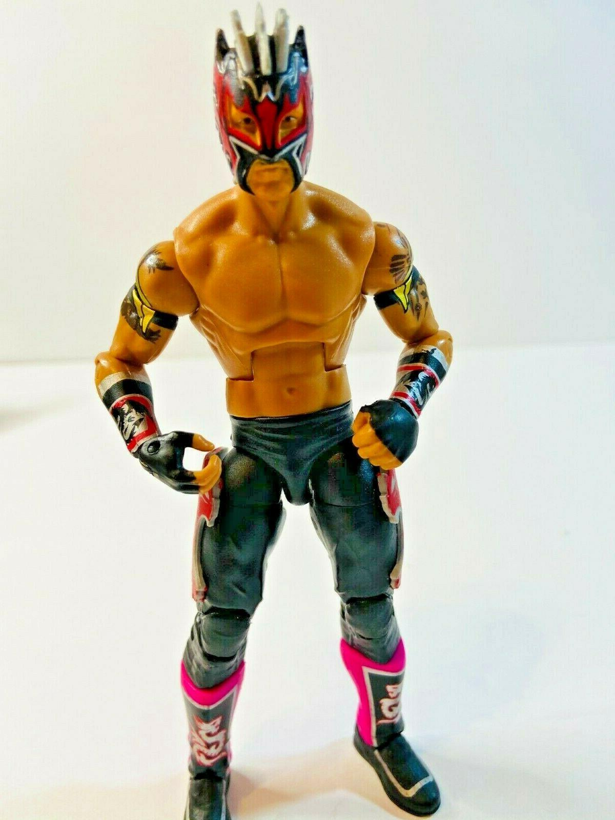 wwe elite series 42 kalisto wrestling action