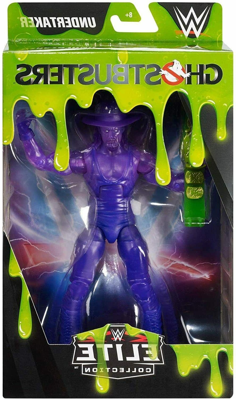 wwe elite series ghostbusters the undertaker action