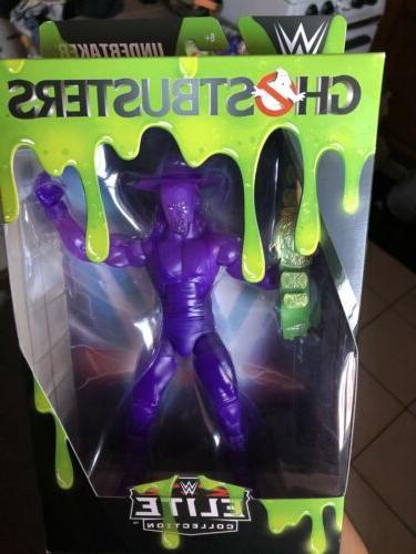 wwe ghostbusters elite undertaker wrestling action figure
