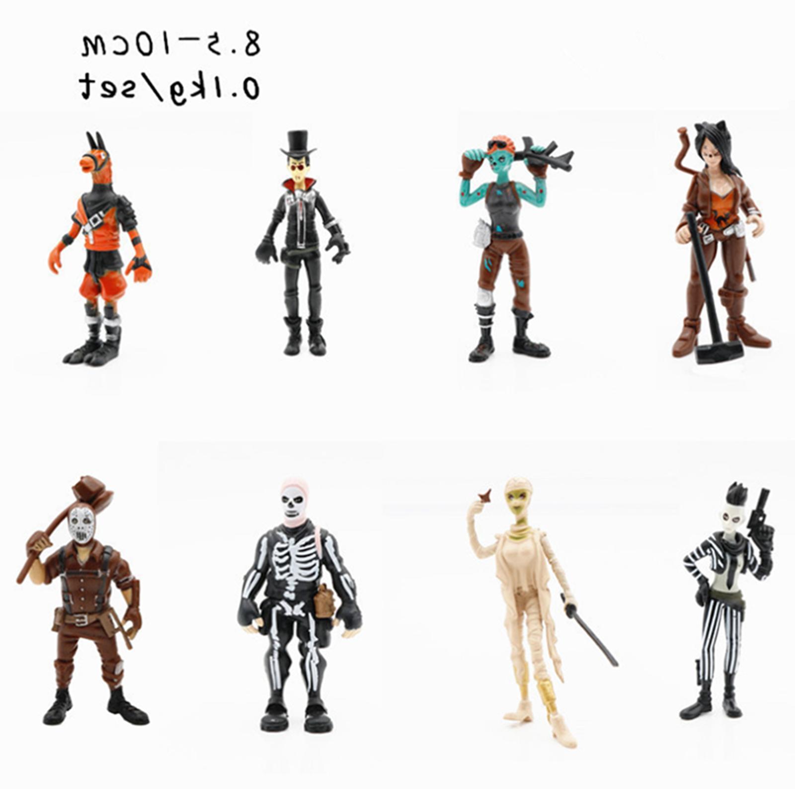 Xmas Gift 16 Fortnite Action Figures Trooper Outlander Commando