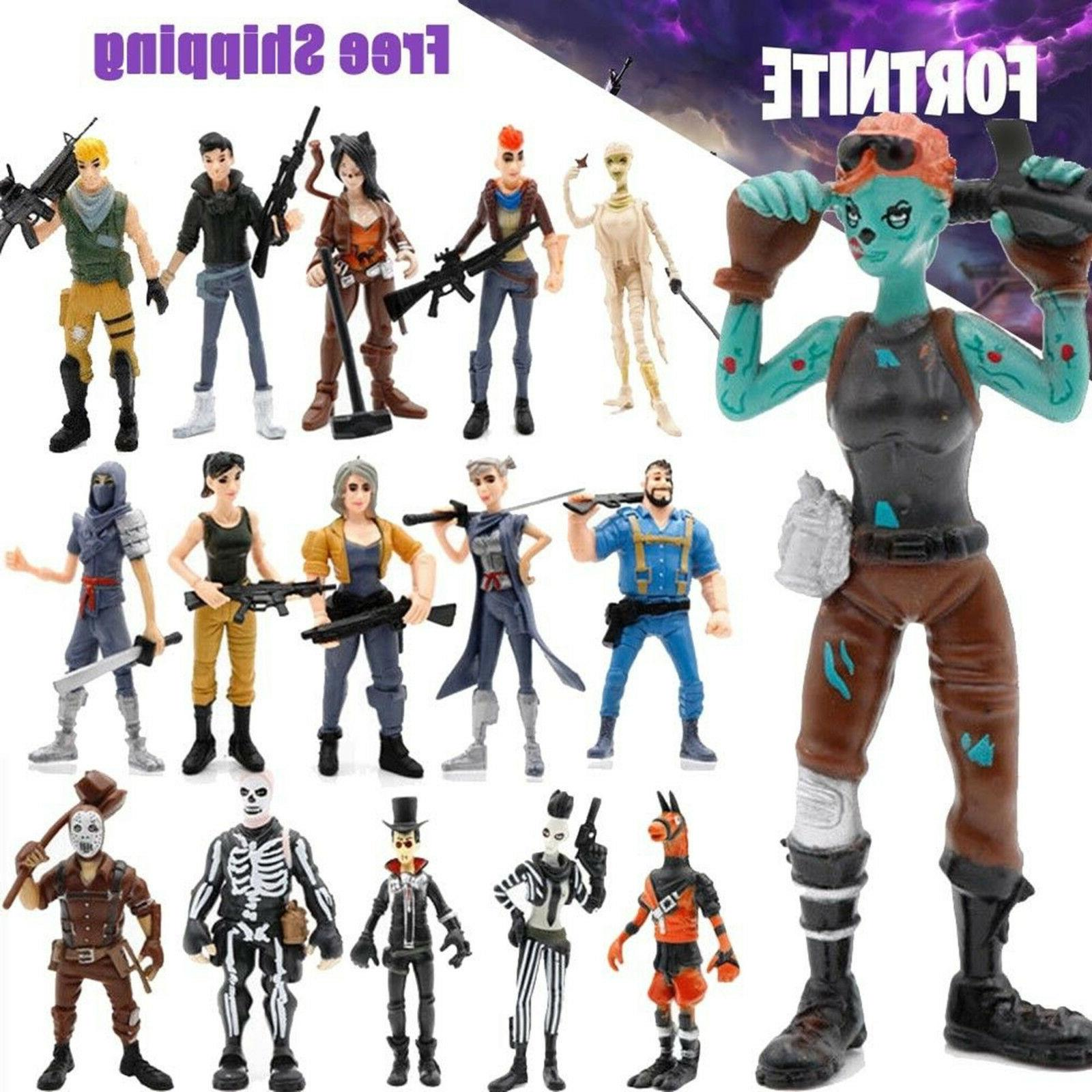 xmas gift 16 pcs fortnite action figures