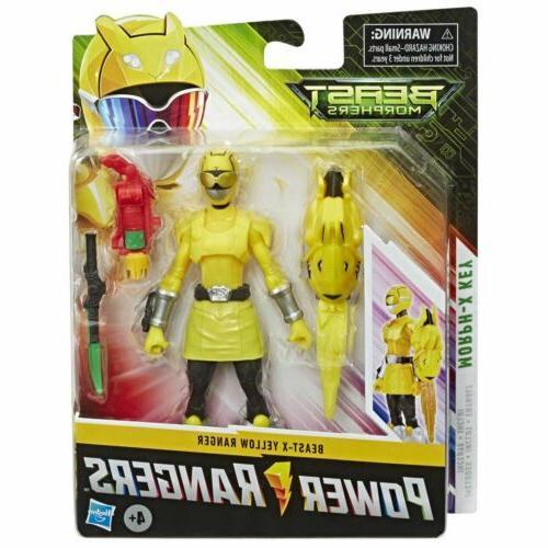 yellow ranger beast morphers beast x 6