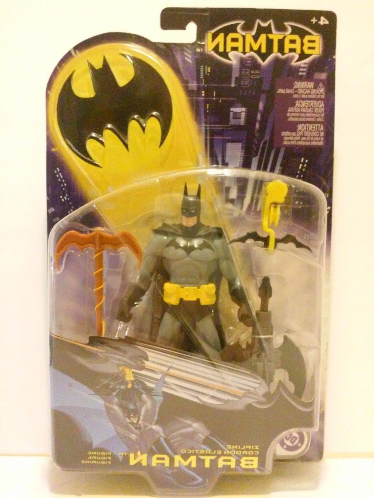 Mattel - Zipline Batman Action Figure - 2003 DC Comics New S